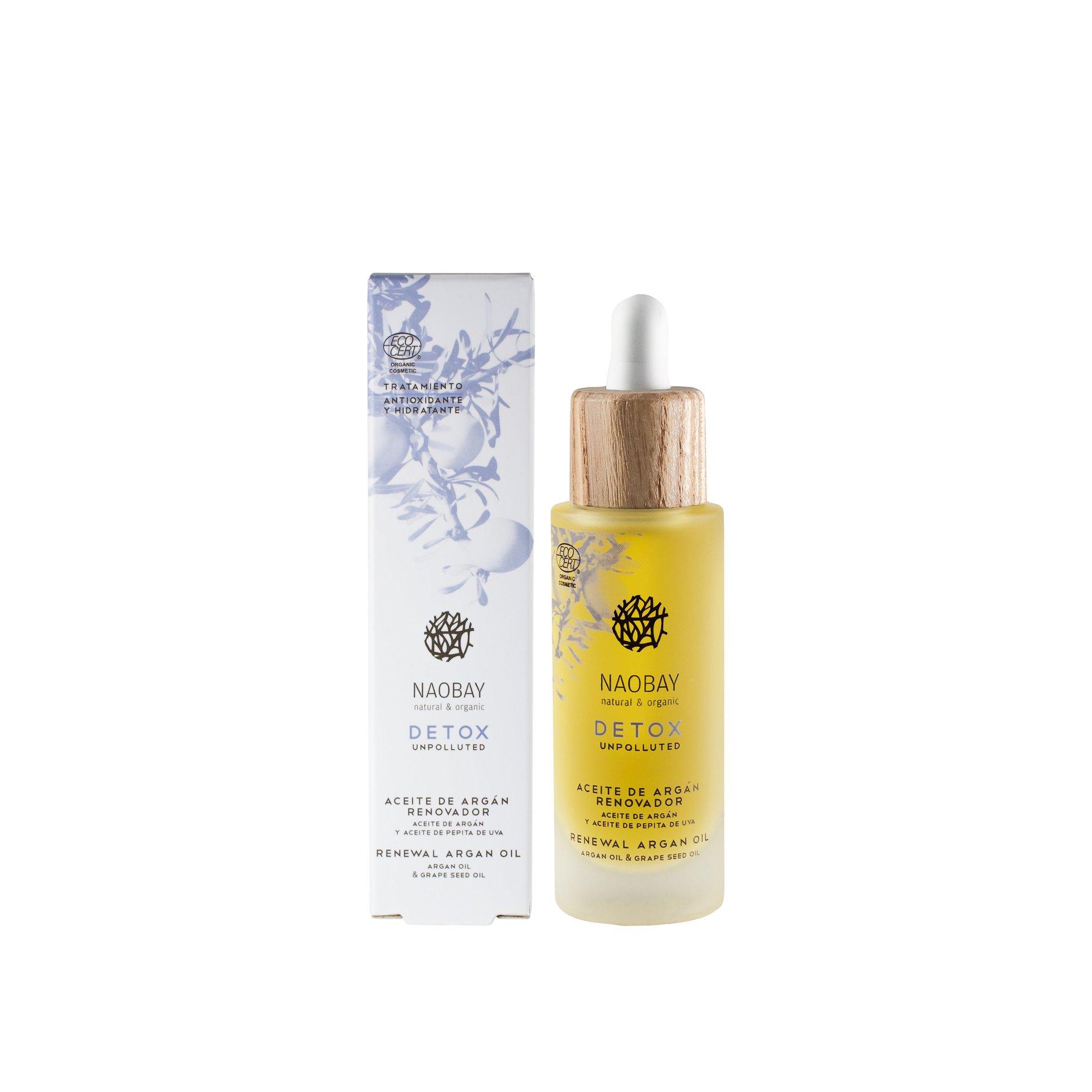 Naobay Obnovující arganový olej 30 ml