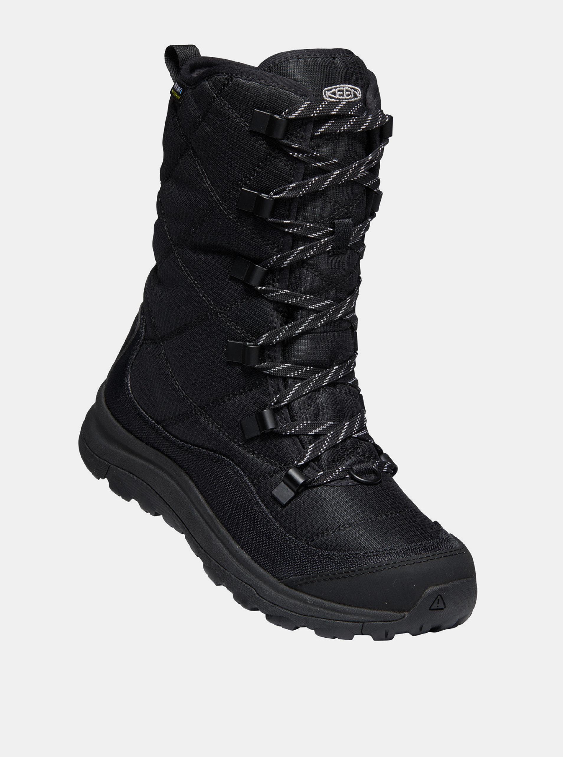 Černé dámské zimní boty Keen