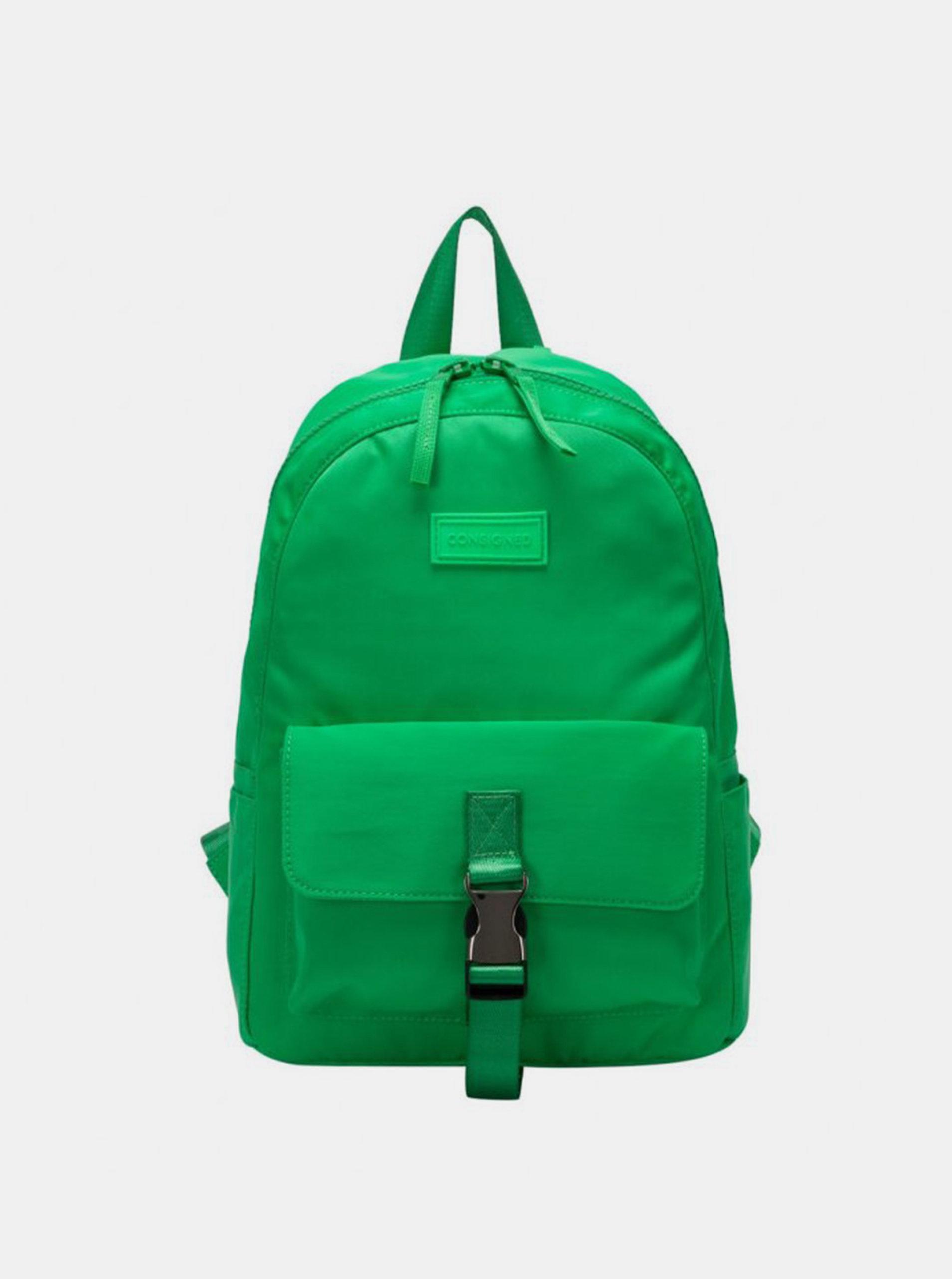 Zelený dámský batoh Consigned