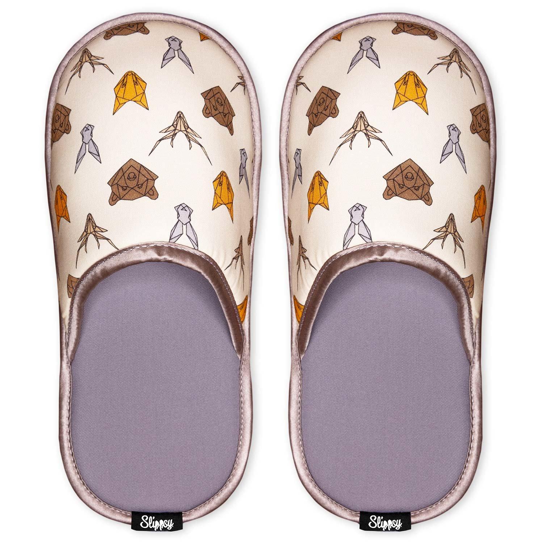 Slippsy světle žluté unisex domácí pantofle Animal
