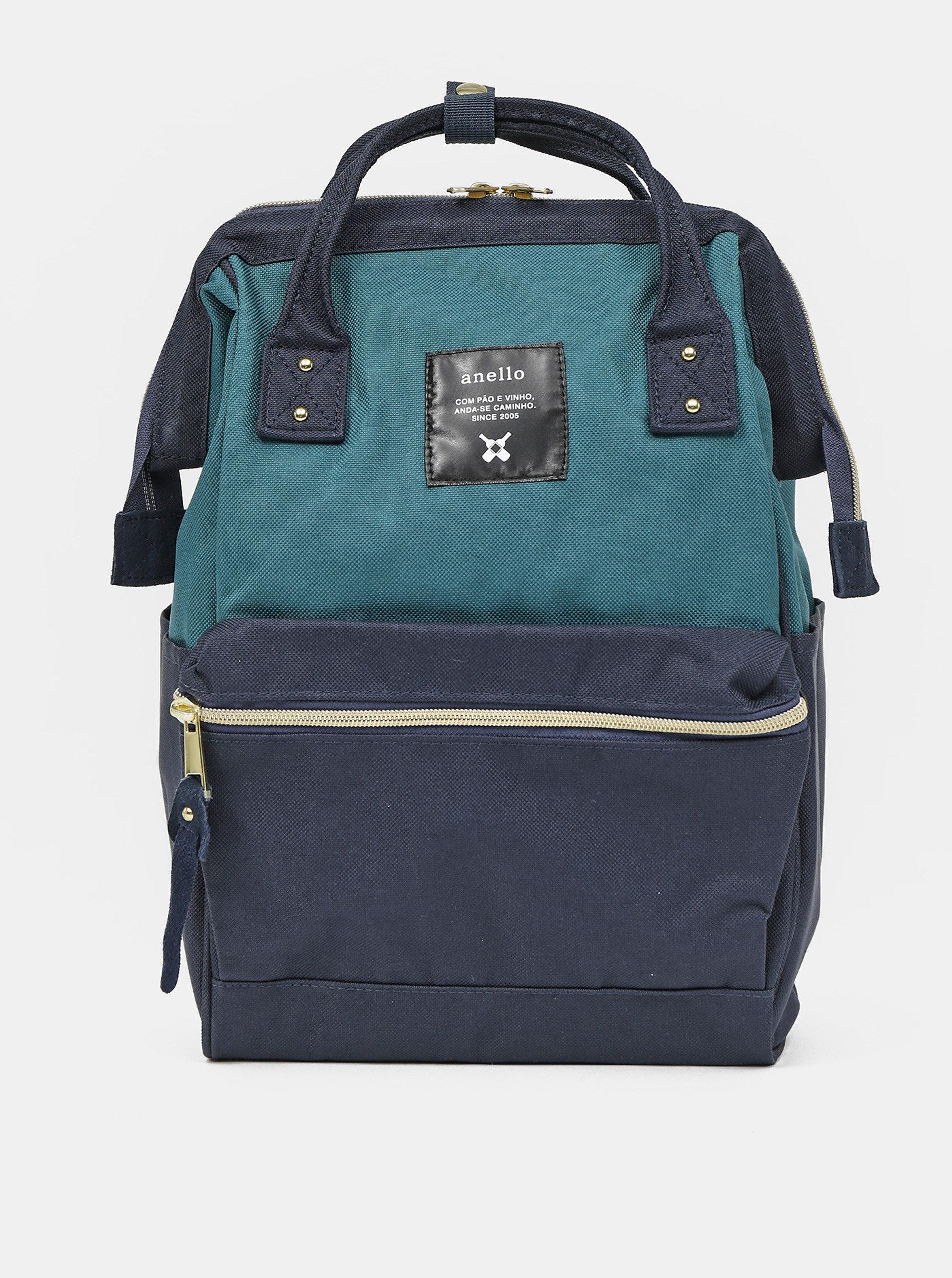 Tmavě modrý batoh Anello 10 l