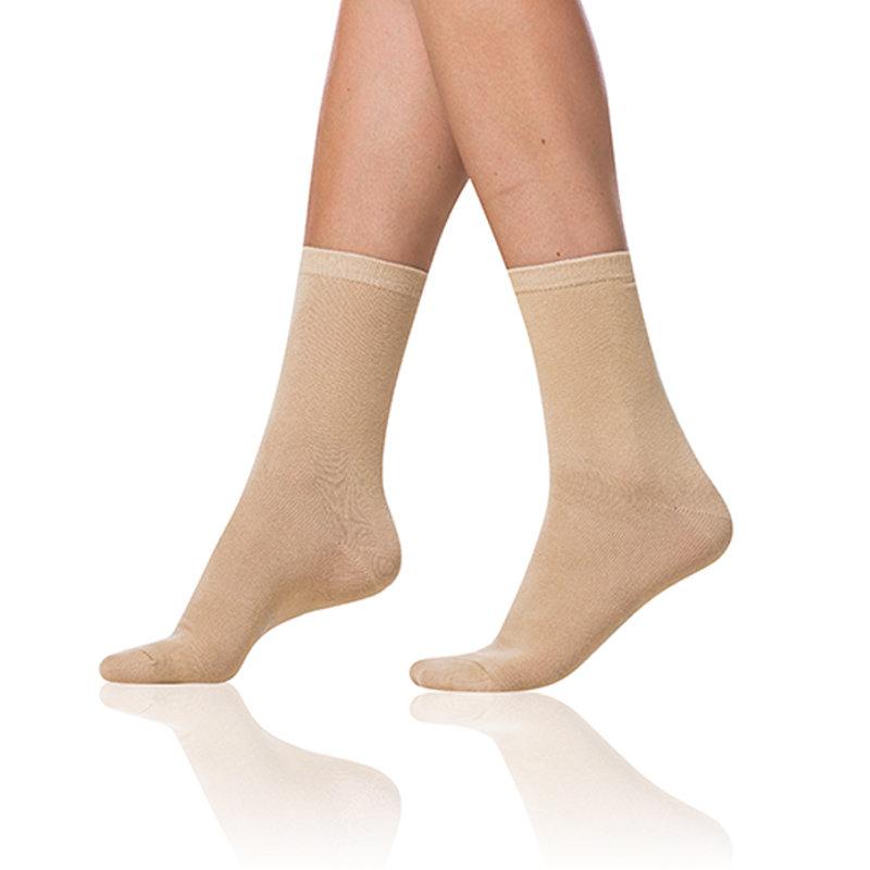 Dámské ponožky CLASSIC SOCKS - Dámské ponožky - béžová