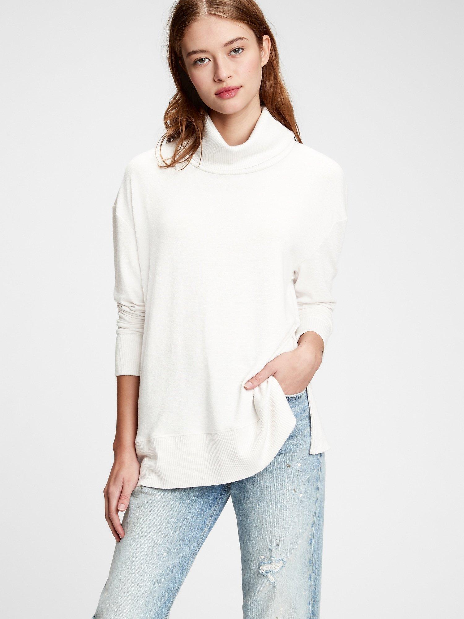 Bílý dámský svetr GAP