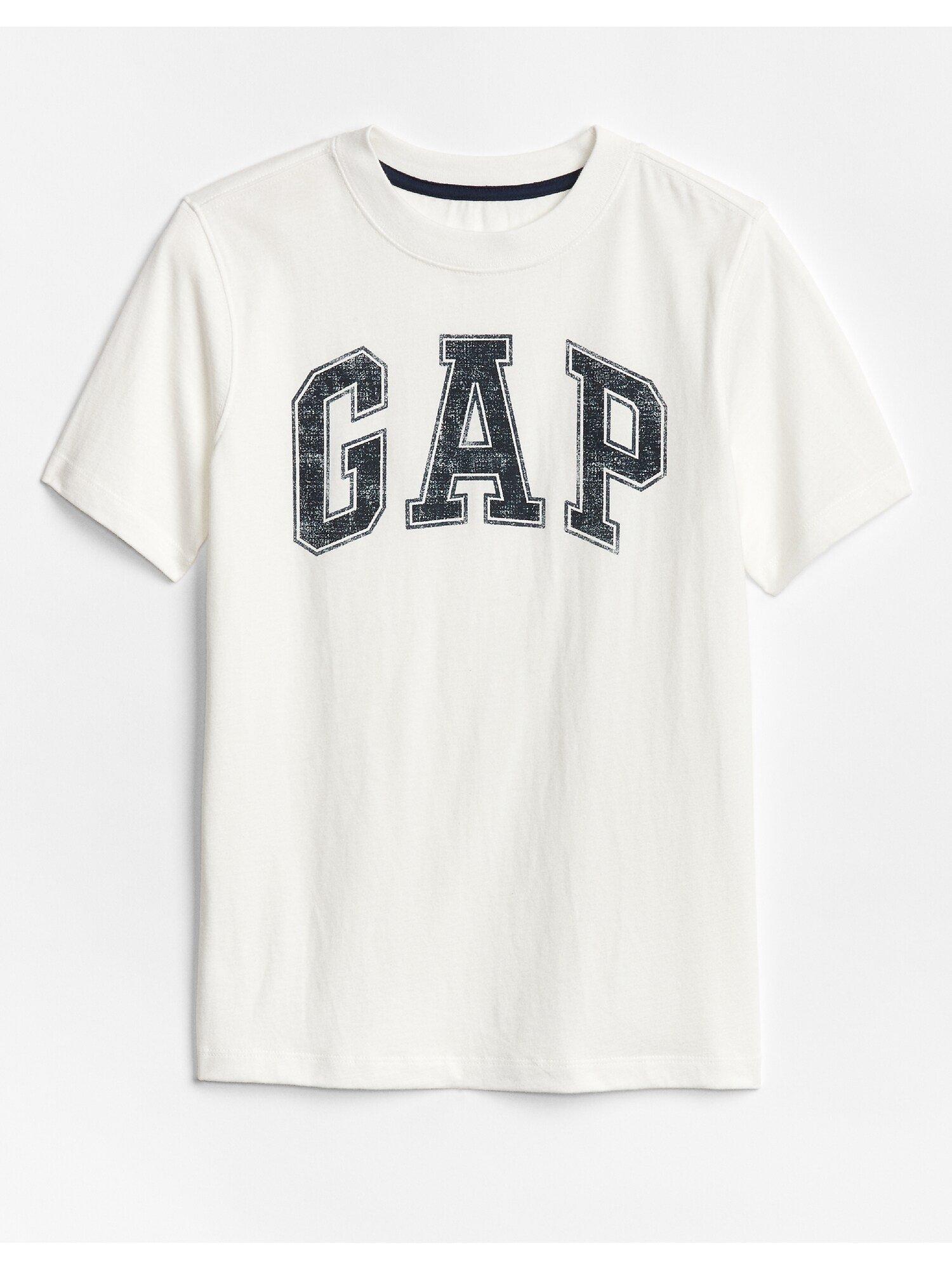 Bílé klučičí tričko GAP Logo