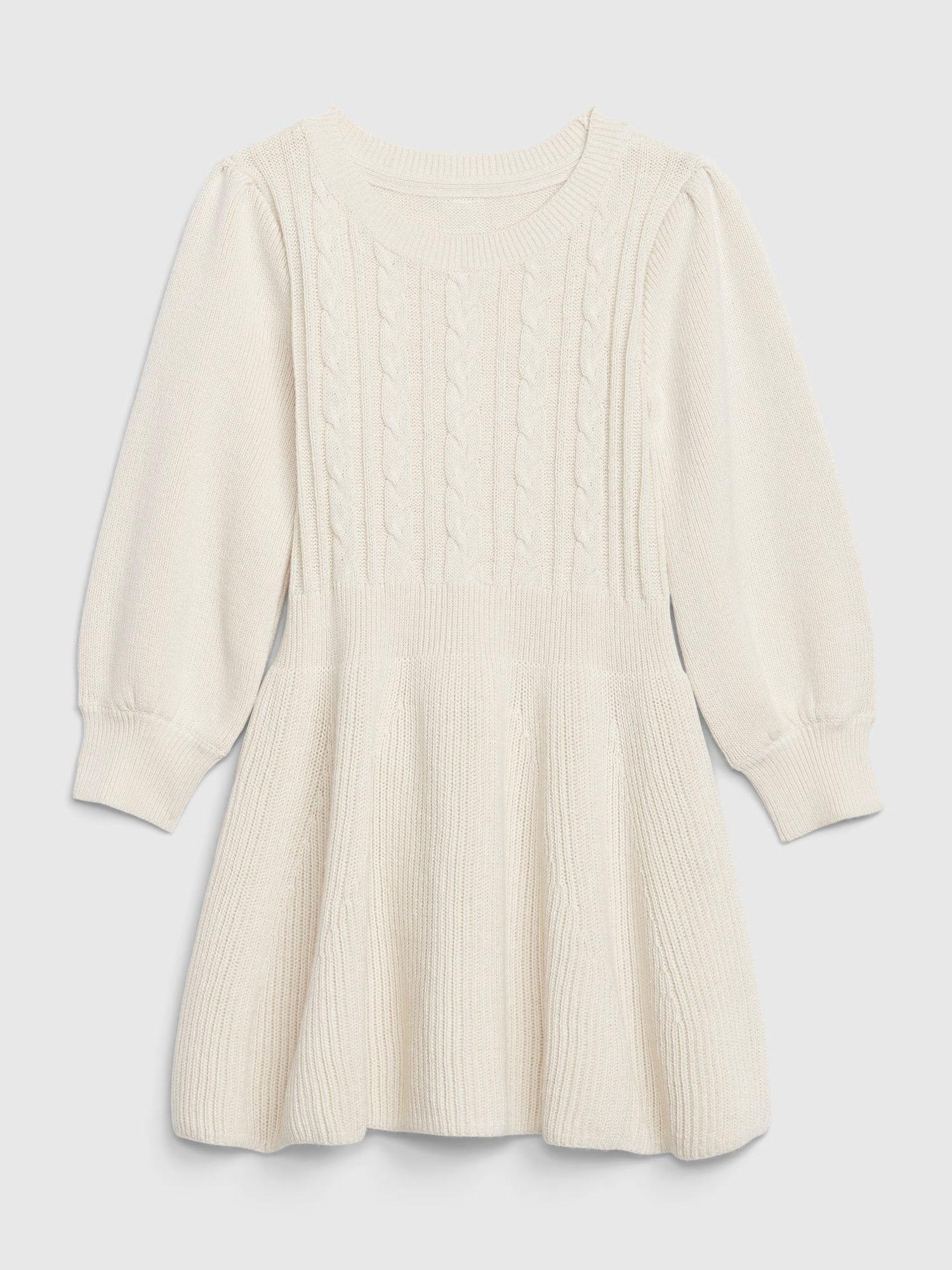 Béžové holčičí šaty GAP