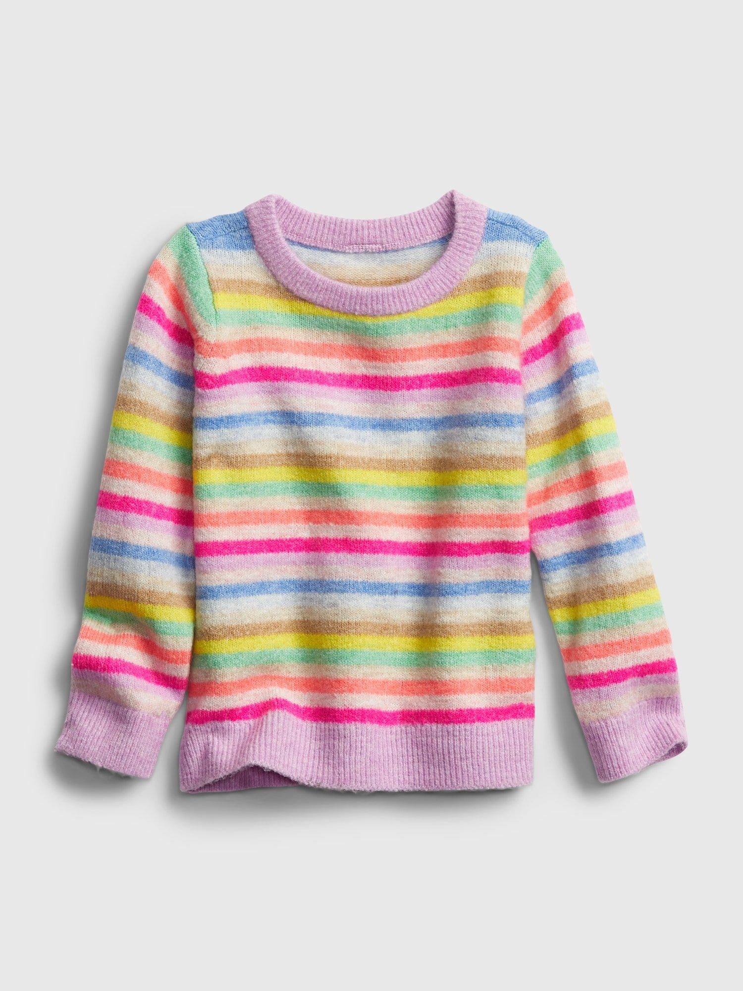 E-shop Barevný holčičí svetr GAP