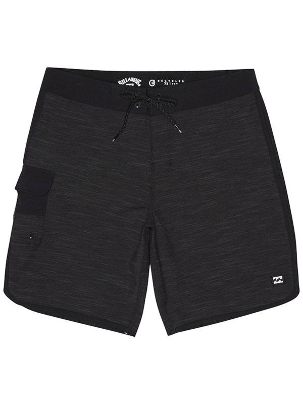 Billabong 73 PRO black pánské kraťasové plavky - černá