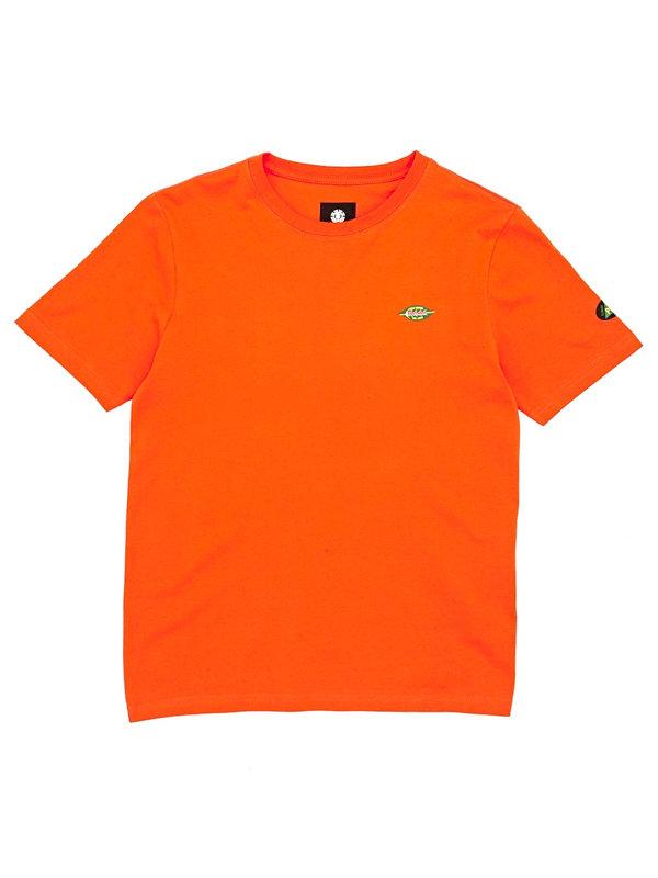 Element YAWYE HAZARD ORANGE dětské triko s krátkým rukávem - oranžová