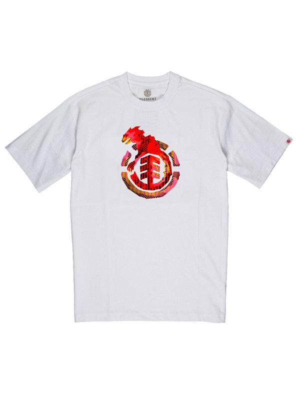 Element WBYC OPTIC WHITE dětské triko s krátkým rukávem - bílá