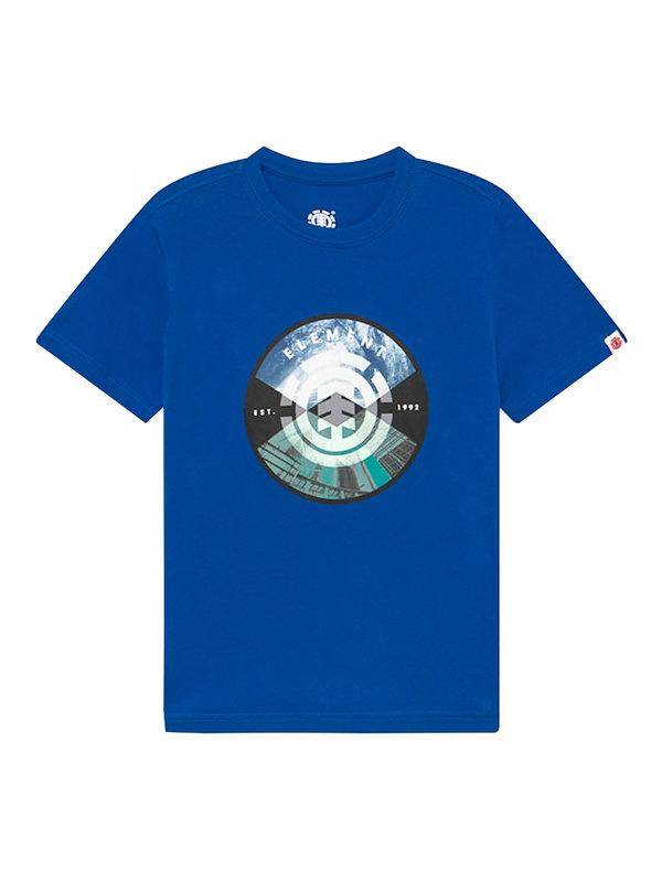 Element AIKEN NAUTICAL BLUE dětské triko s krátkým rukávem - modrá