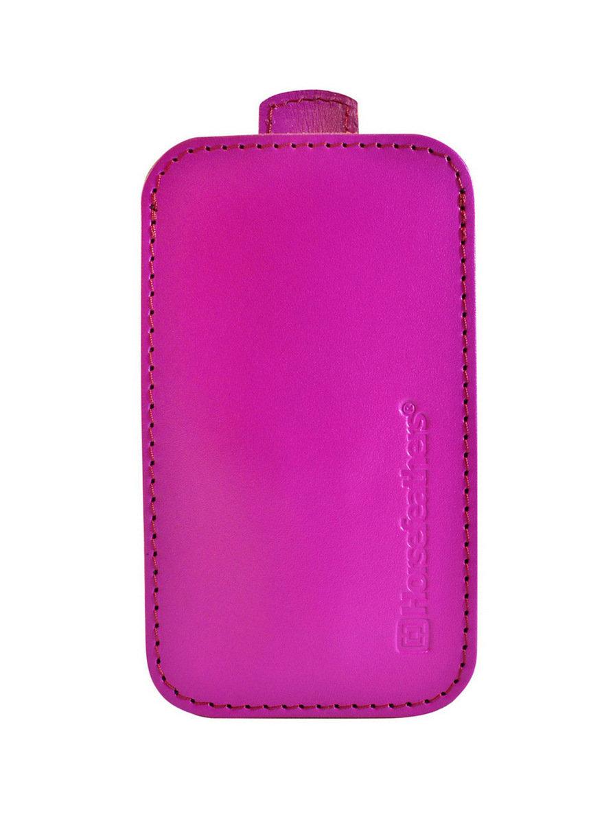 Horsefeathers TODD magenta obal na mobil - růžová