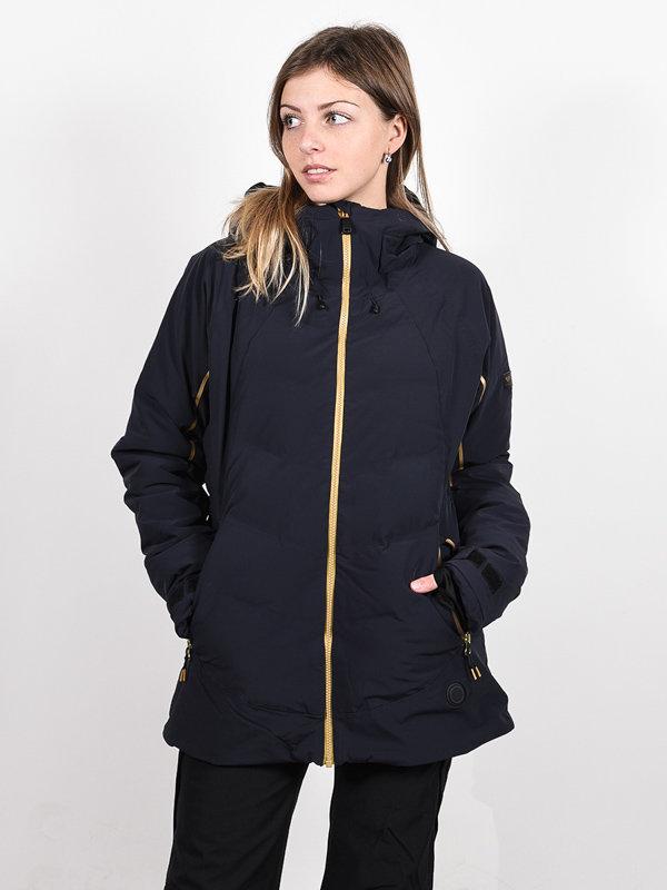 Roxy PREMIERE TRUE BLACK zimní dámská bunda - černá