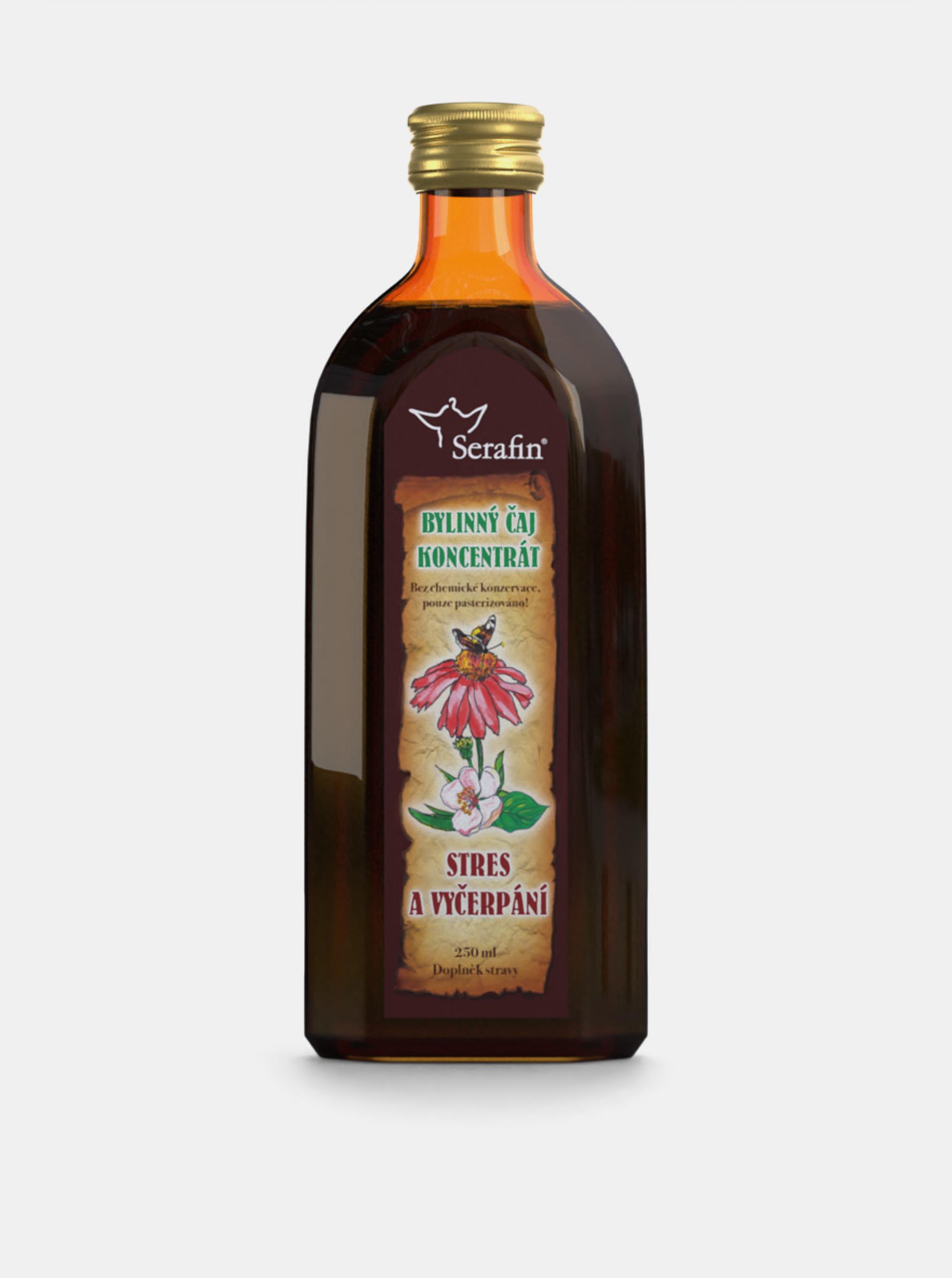E-shop Bylinný čajový koncentrát Serafin - Stres a vyčerpání (250 ml)
