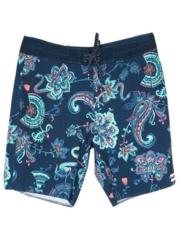 Billabong SUNDAYS blue pánské kraťasové plavky - modrá