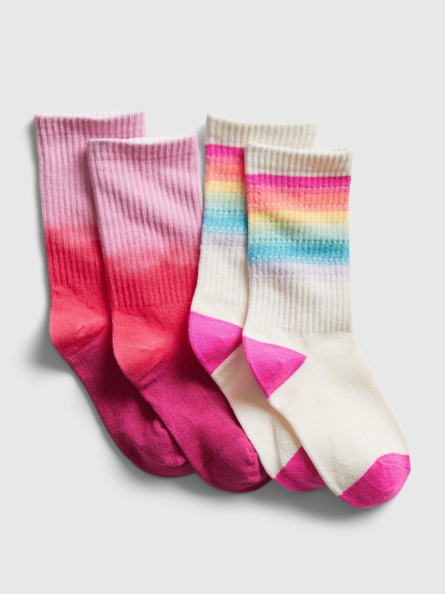 E-shop Barevné holčičí ponožky GAP