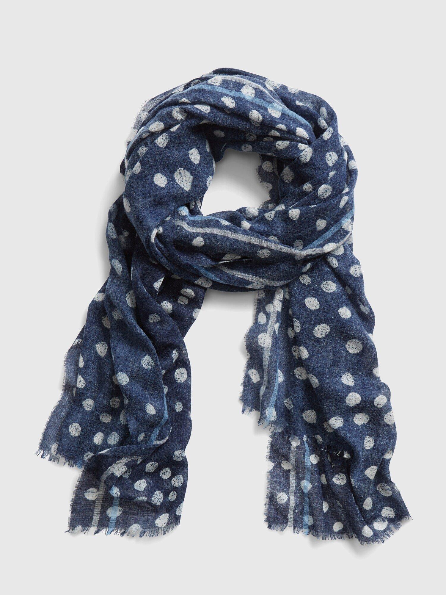Modrý dámský šátek GAP