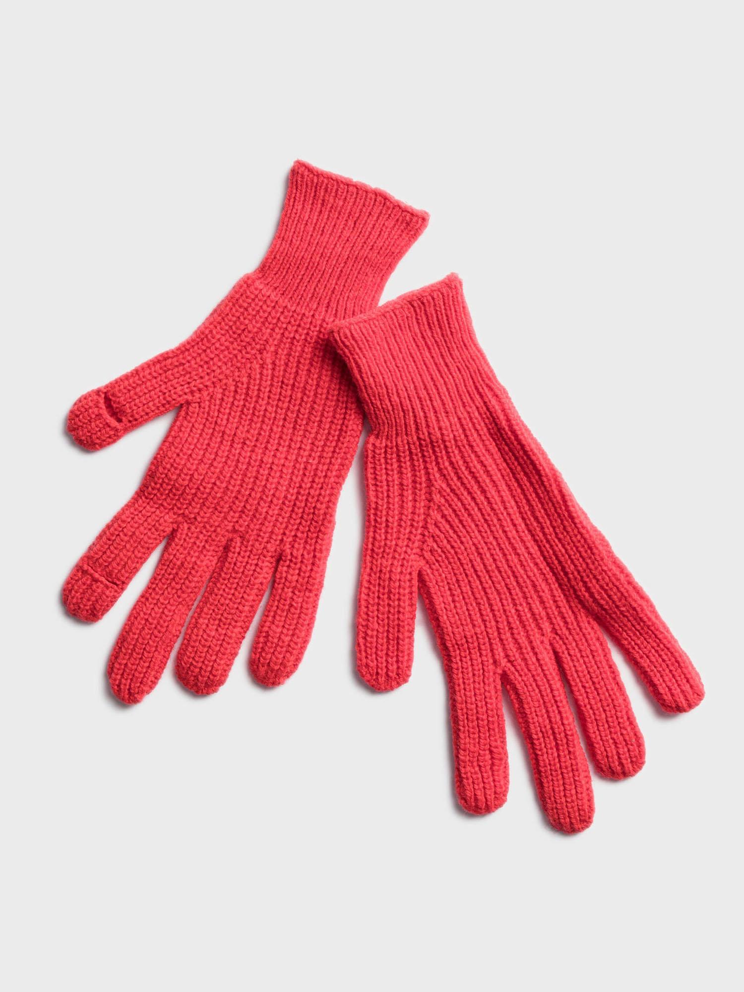Červené dámské rukavice GAP