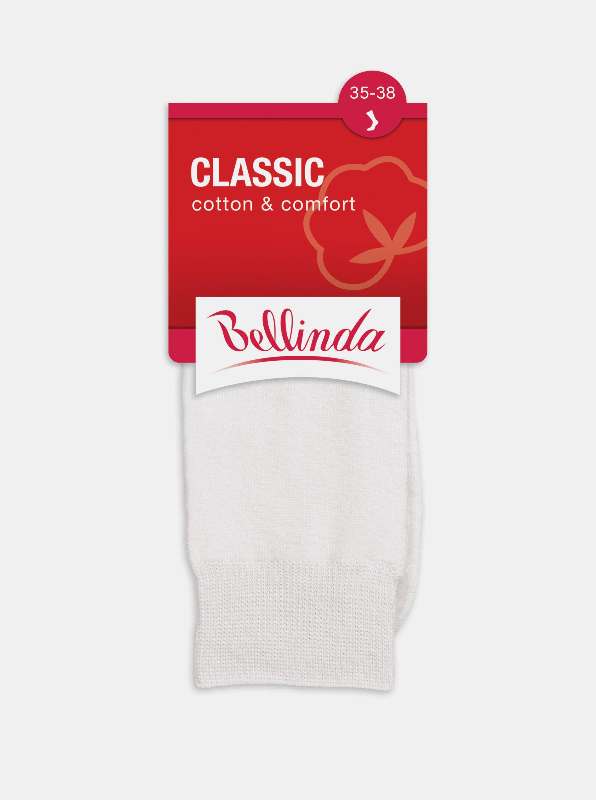 Dámské ponožky CLASSIC SOCKS - Dámské ponožky - bílá