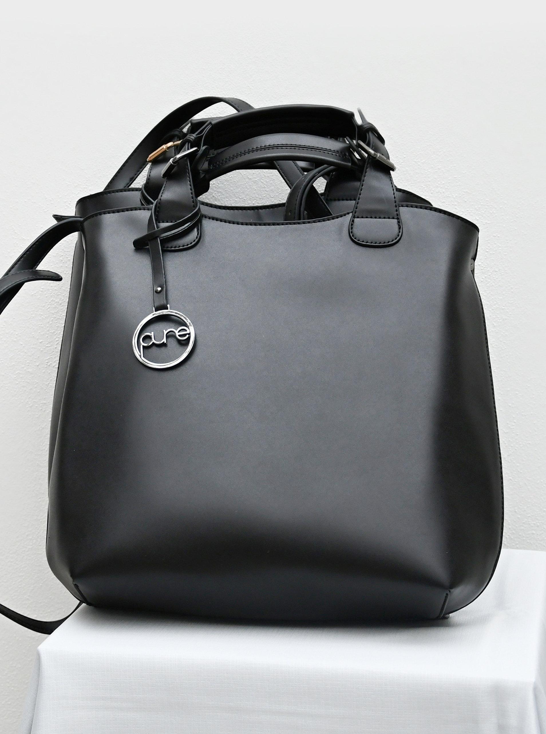 Černá kabelka Pure London