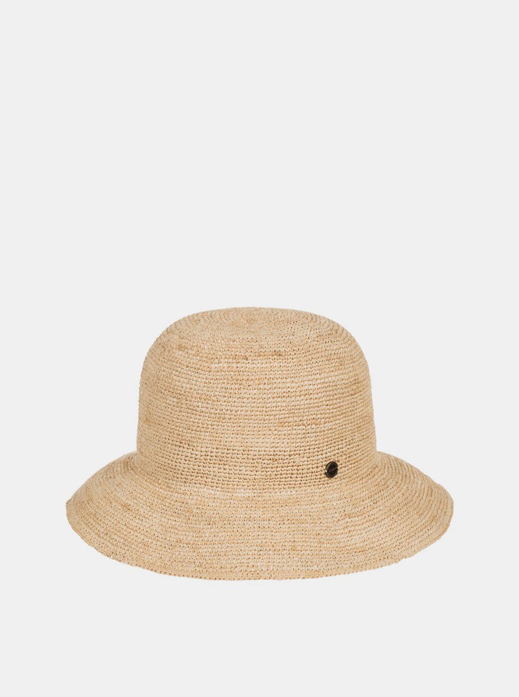 Béžový slaměný klobouk Roxy