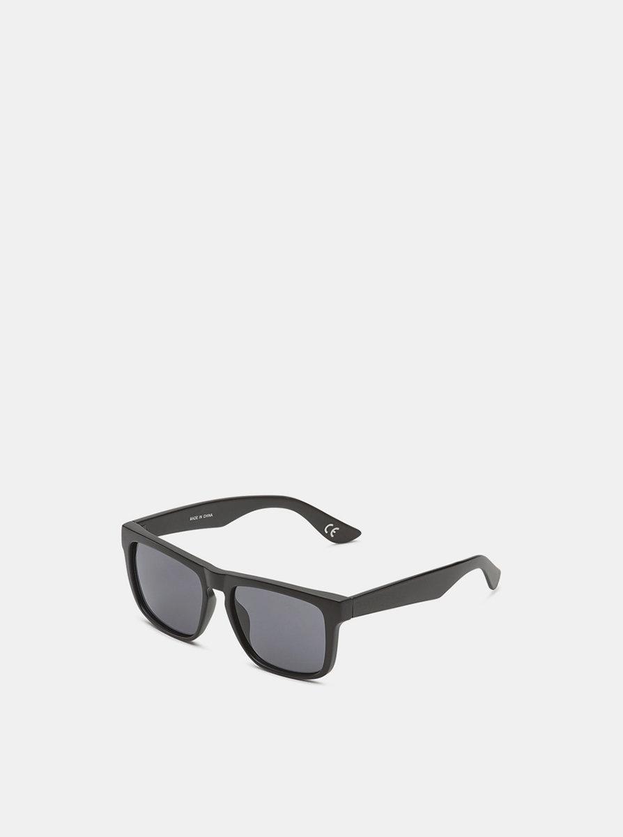 Vans SQUARED OFF BLACK/BLACK sluneční brýle pilotky - černá