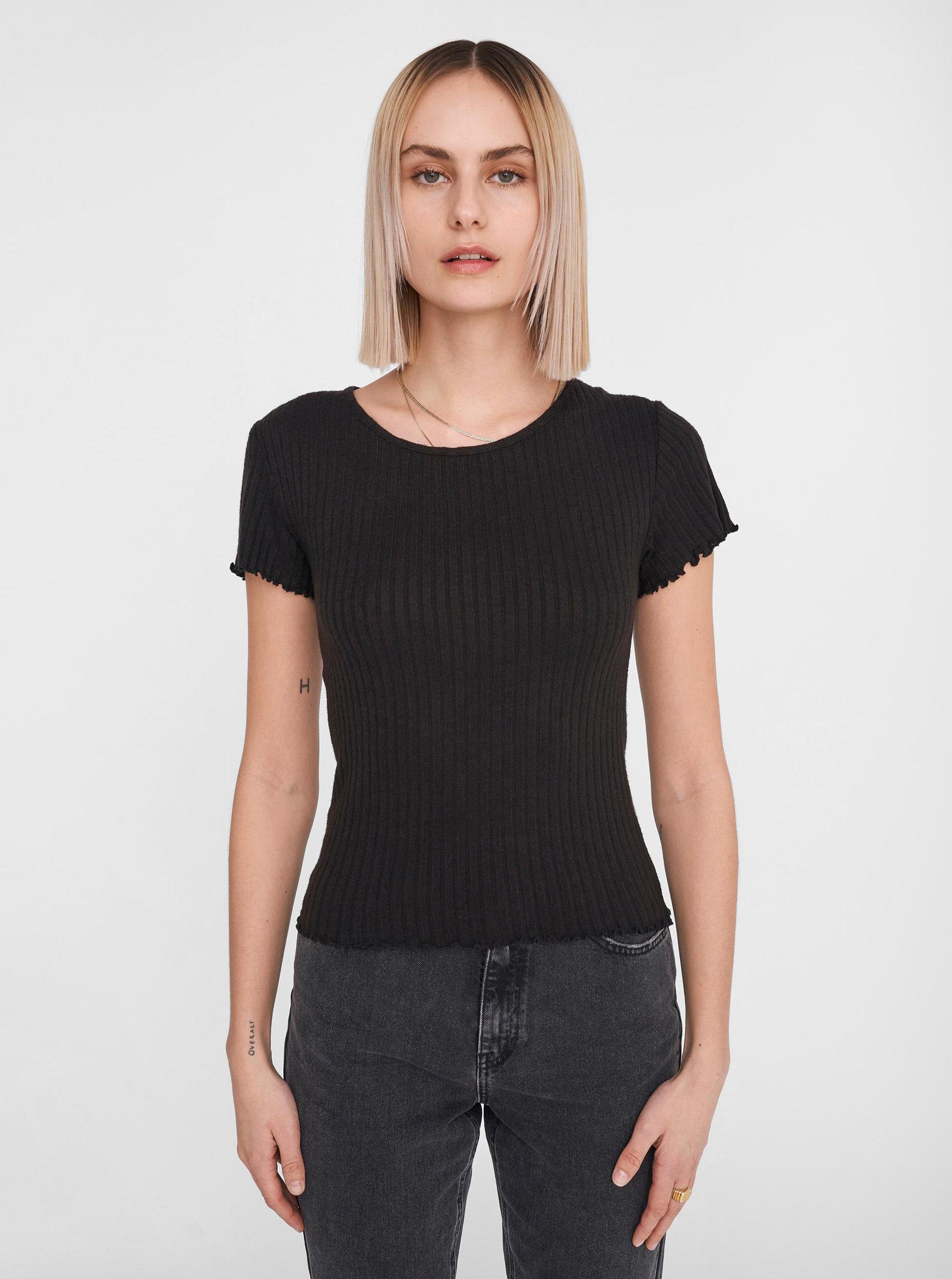 E-shop Černé tričko Noisy May Berry