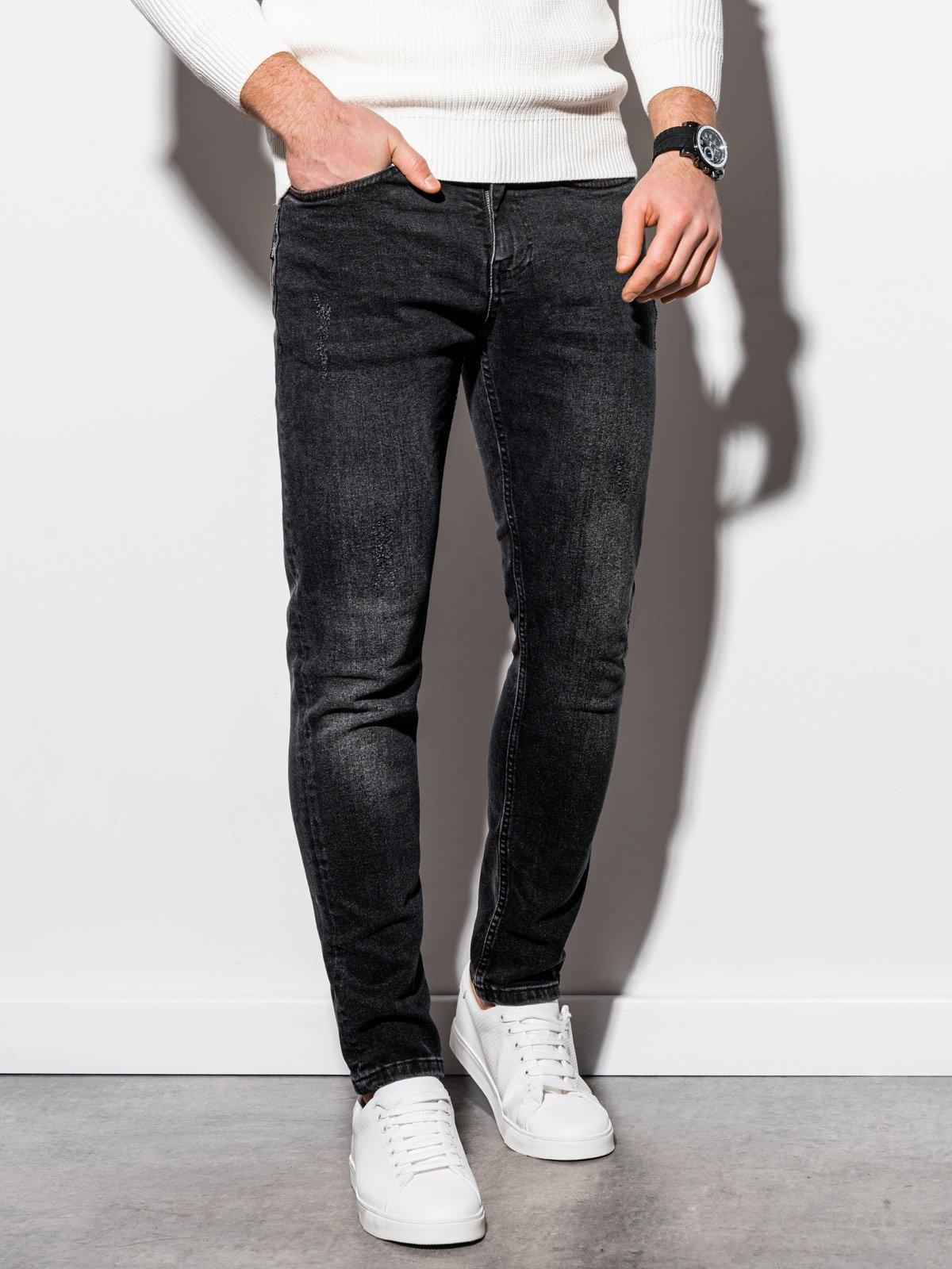Pánské riflové kalhoty P940 - černé