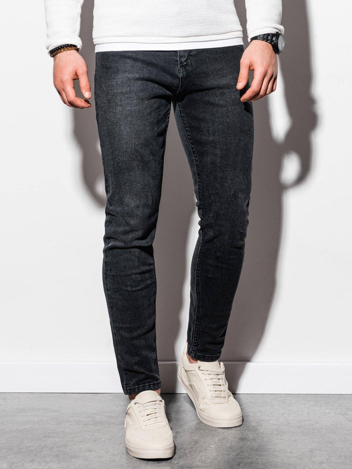 Pánské riflové kalhoty P941 - černé