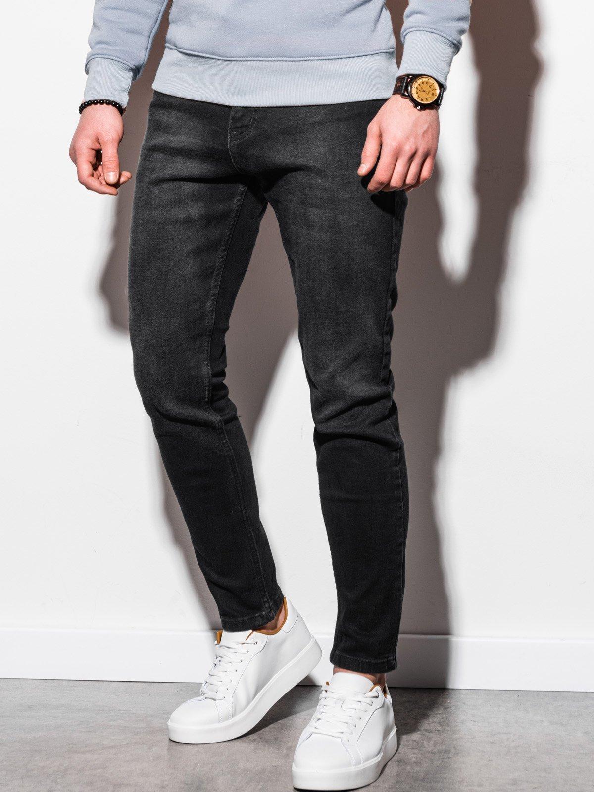Pánské riflové kalhoty P942 - černé