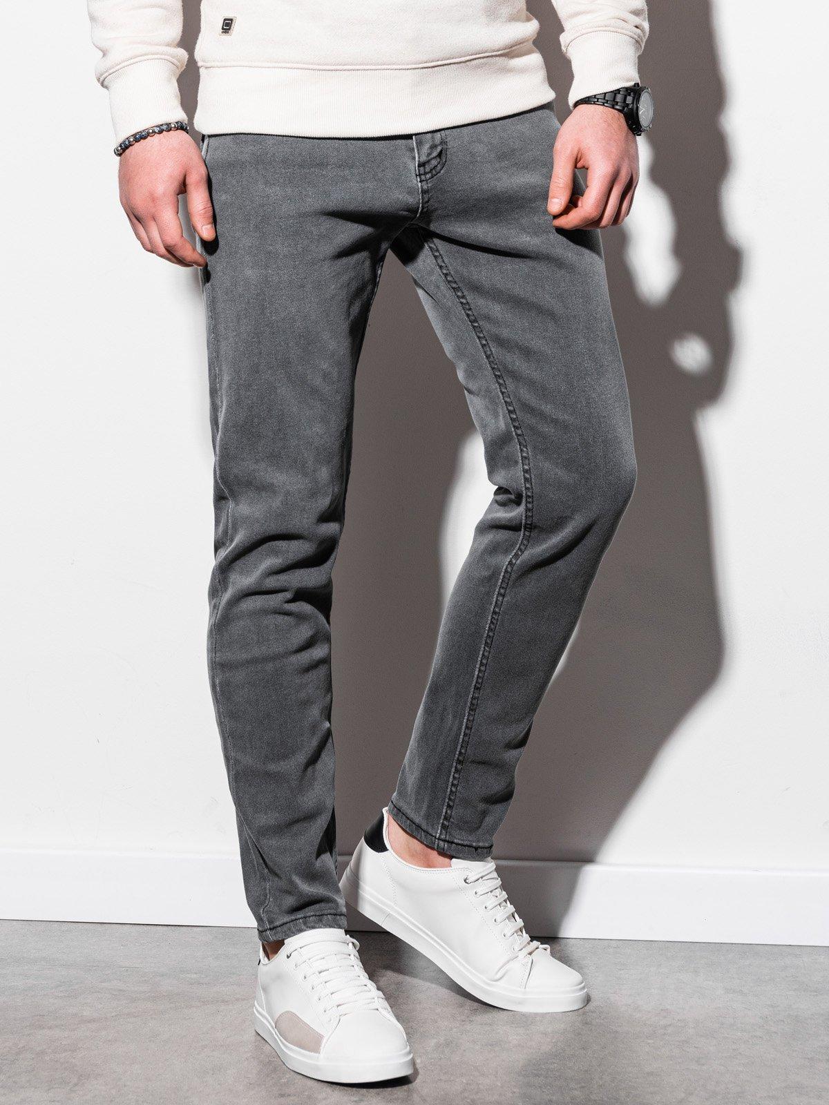 Pánské riflové kalhoty P942 - šedá