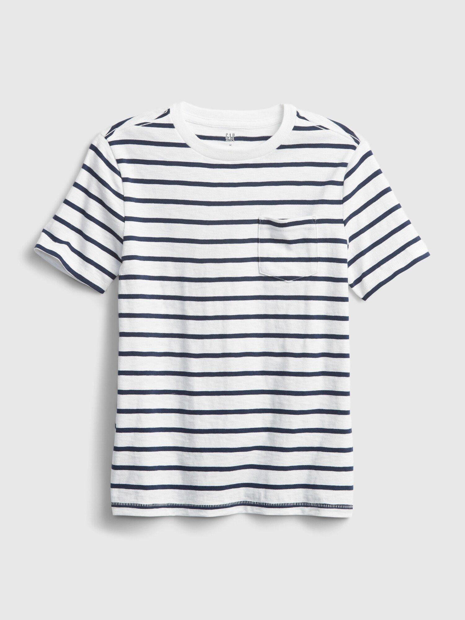 Barevné klučičí dětské tričko pocket