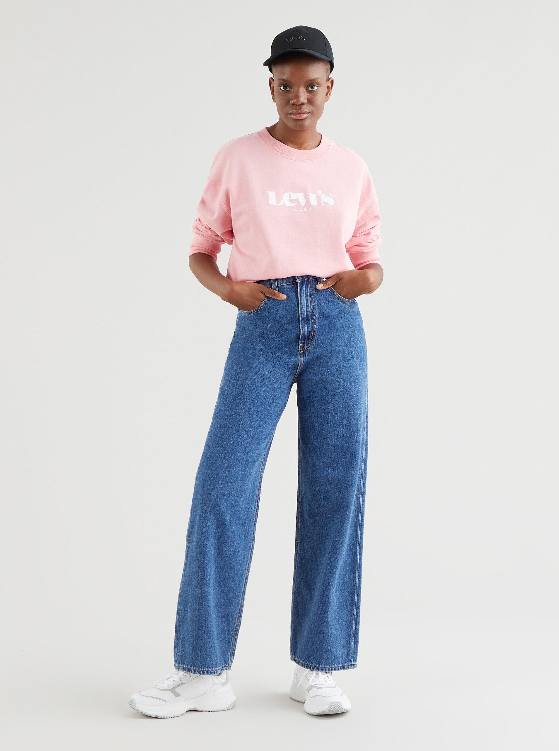 Růžová dámská mikina Levi's®