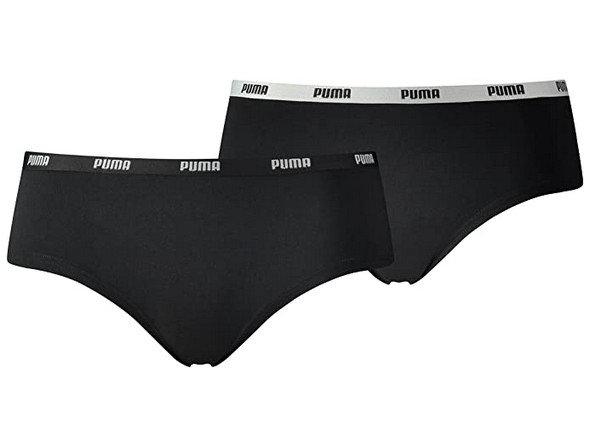 2PACK dámské kalhotky Puma černé