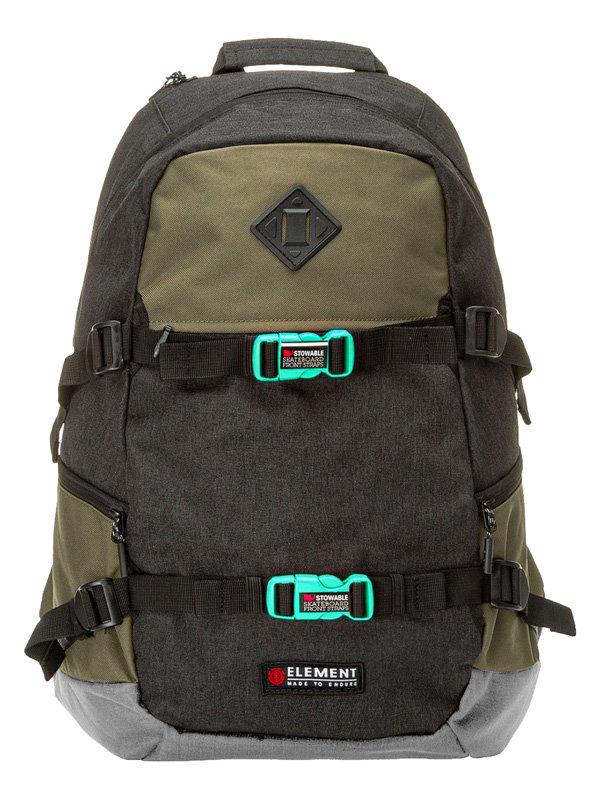 Element JAYWALKER MILITARY batoh do školy - černá