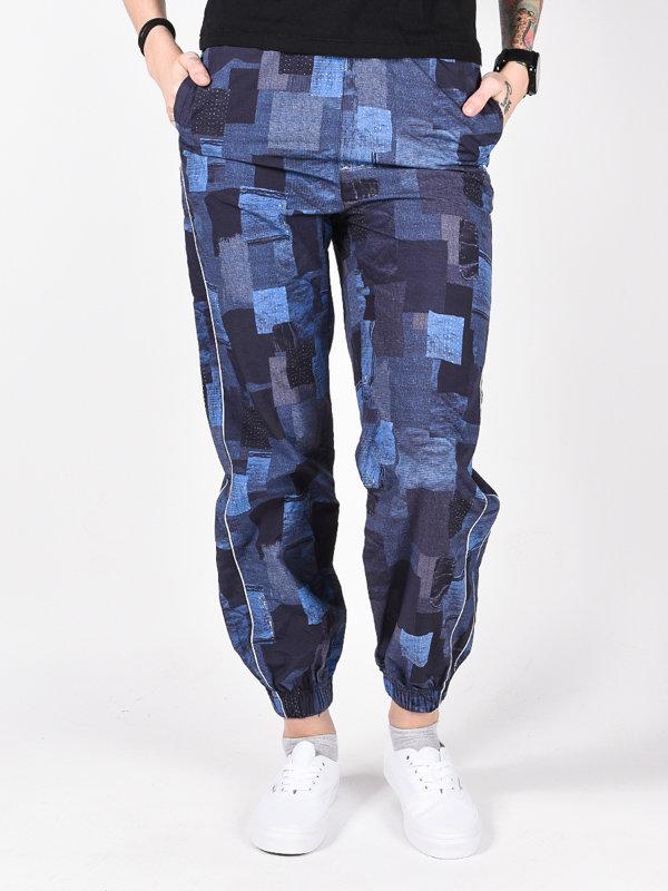 Element WALK THIS WAY BORO PRINT plátěné kalhoty dámské - modrá