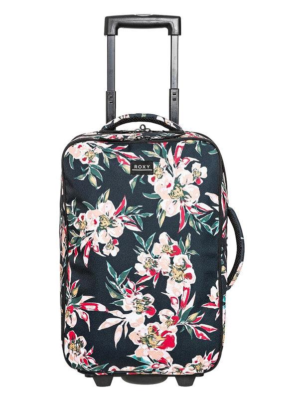 Roxy GET IT ANTHRACITE WONDER GARDEN S kufr do letadla - barevné