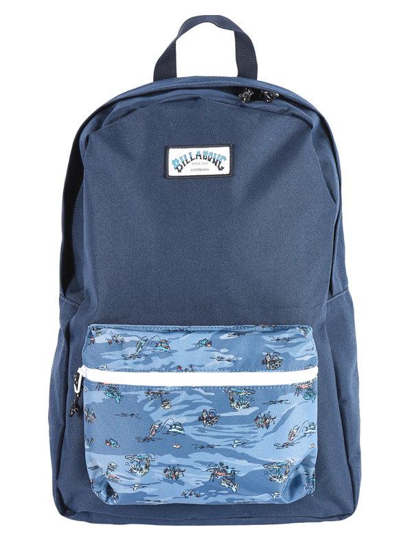 Billabong ALL DAY NAVY batoh do školy - modrá