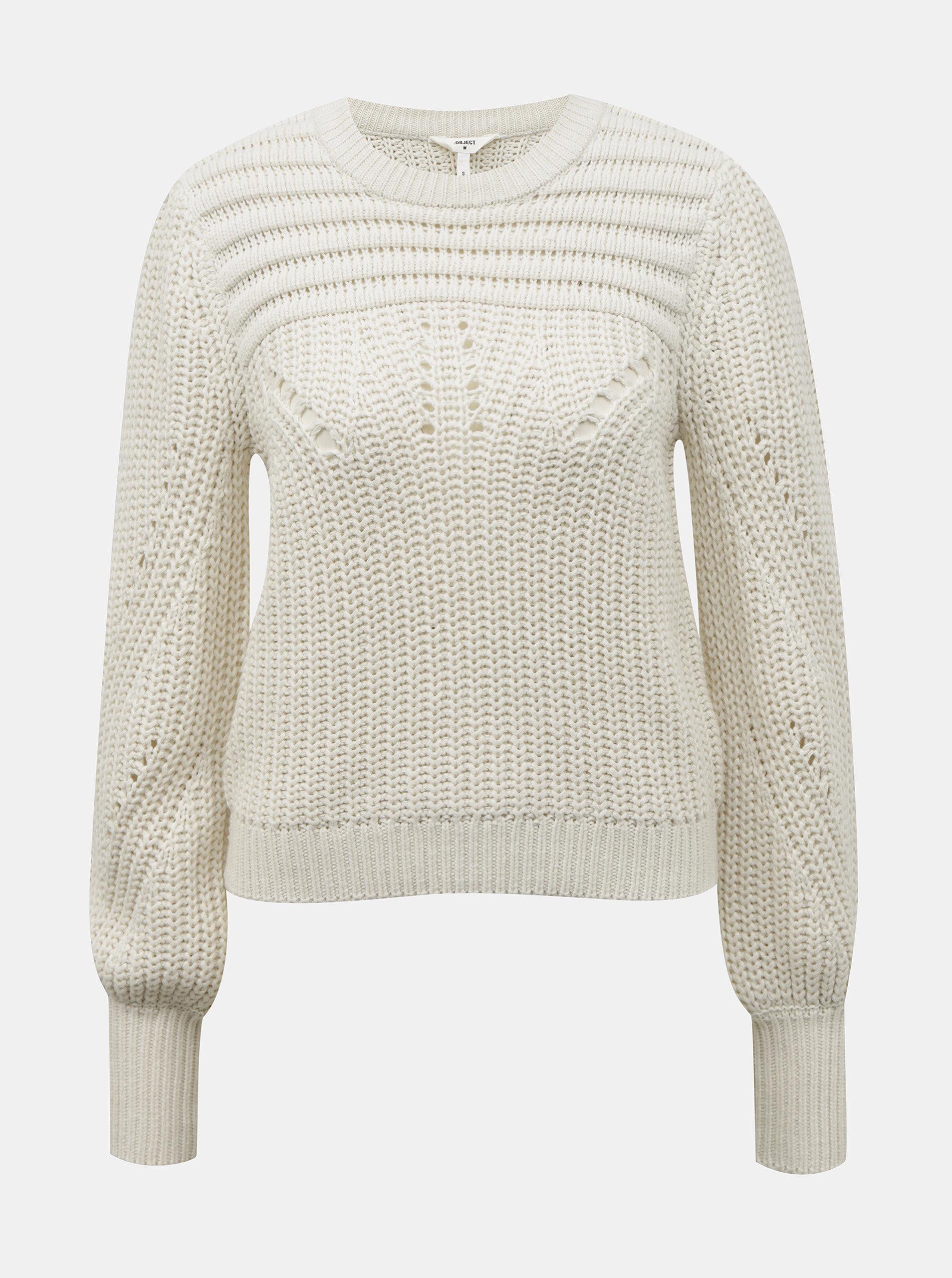 Bílý svetr .OBJECT Trish