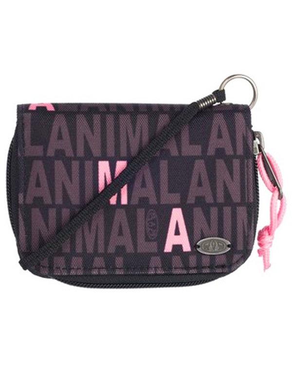 Animal BUZIOS black dámská značková peněženka - černá