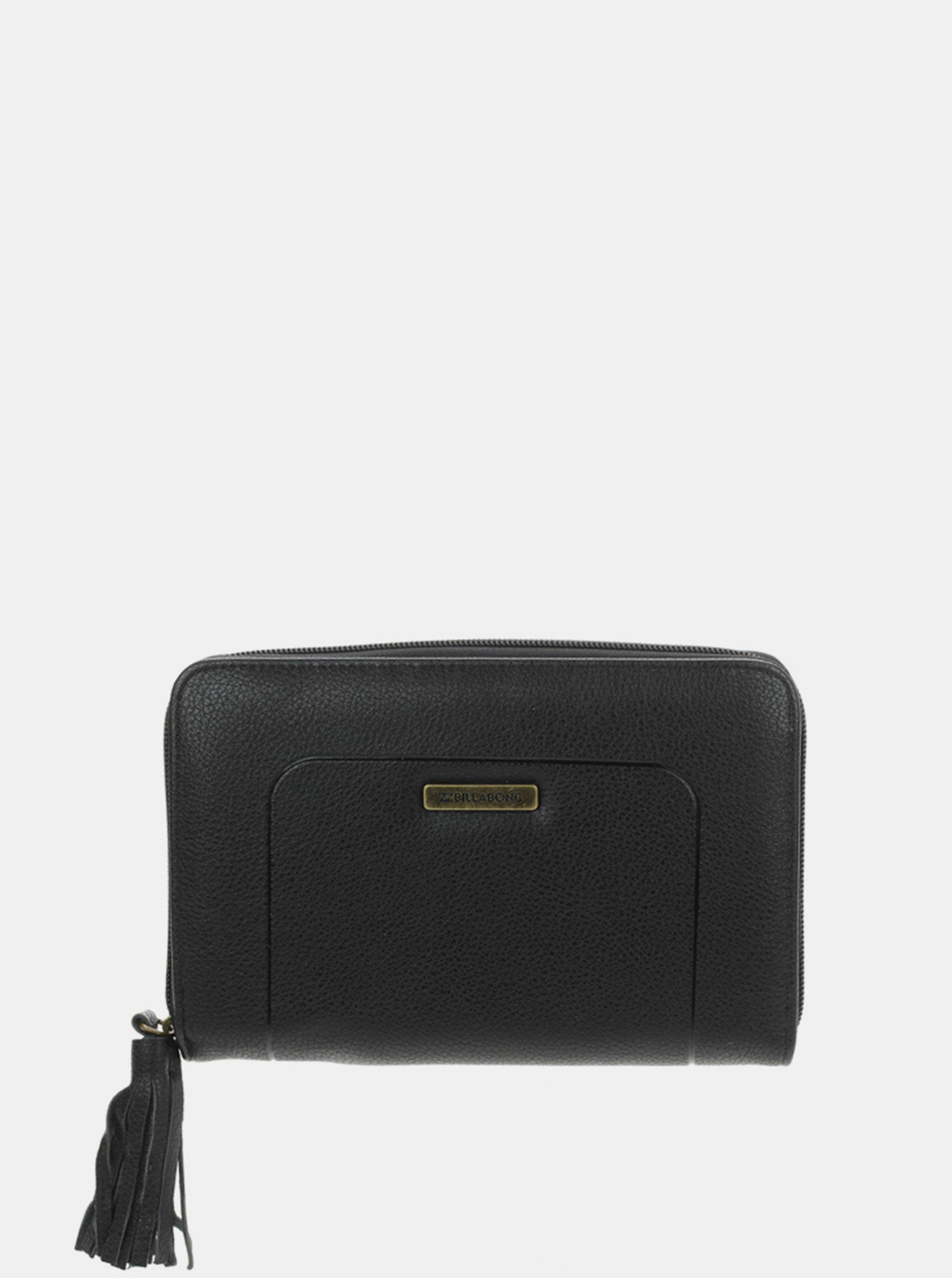 Billabong OCEAN black dámská značková peněženka - černá