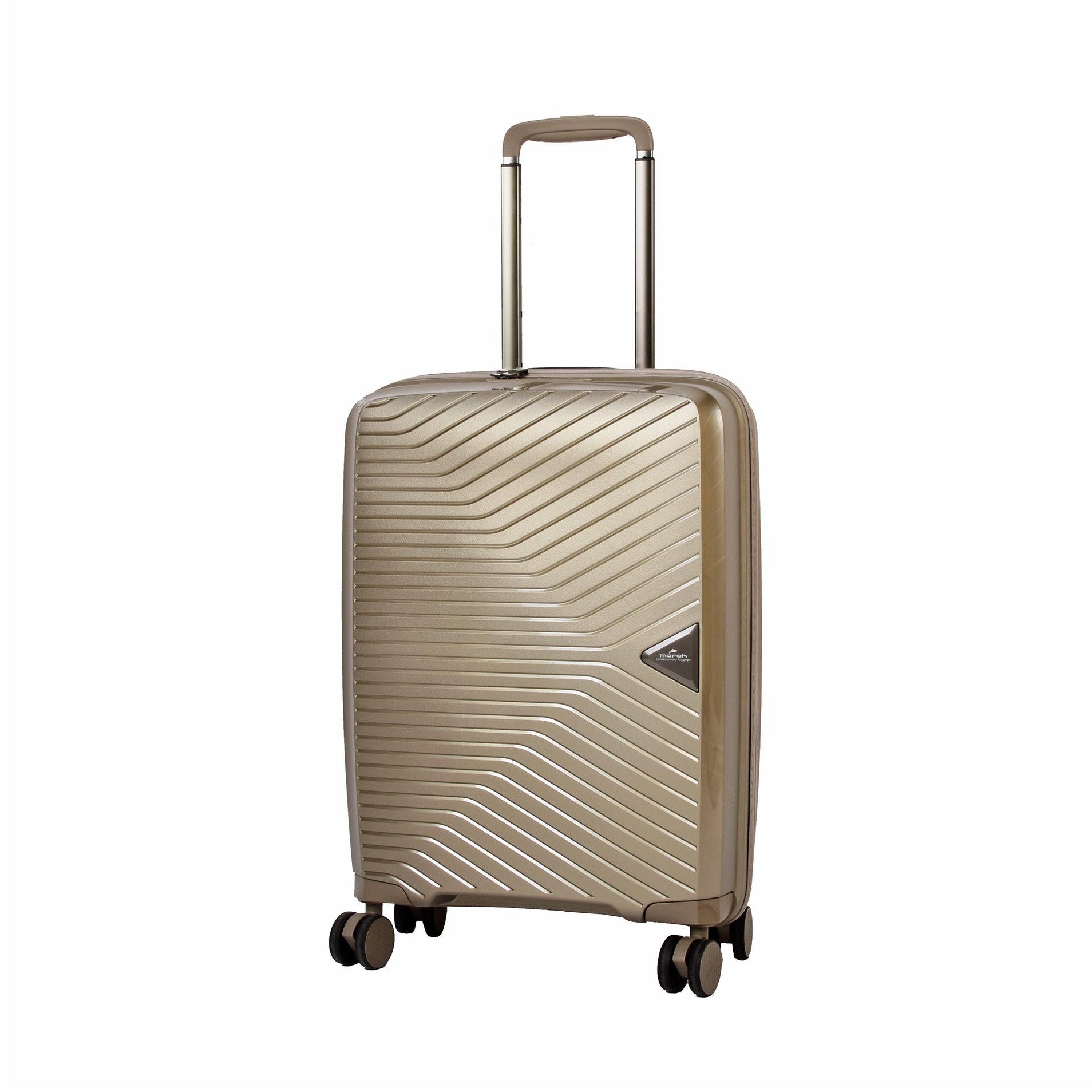 Cestovní kufr March Gotthard S Silver bronze