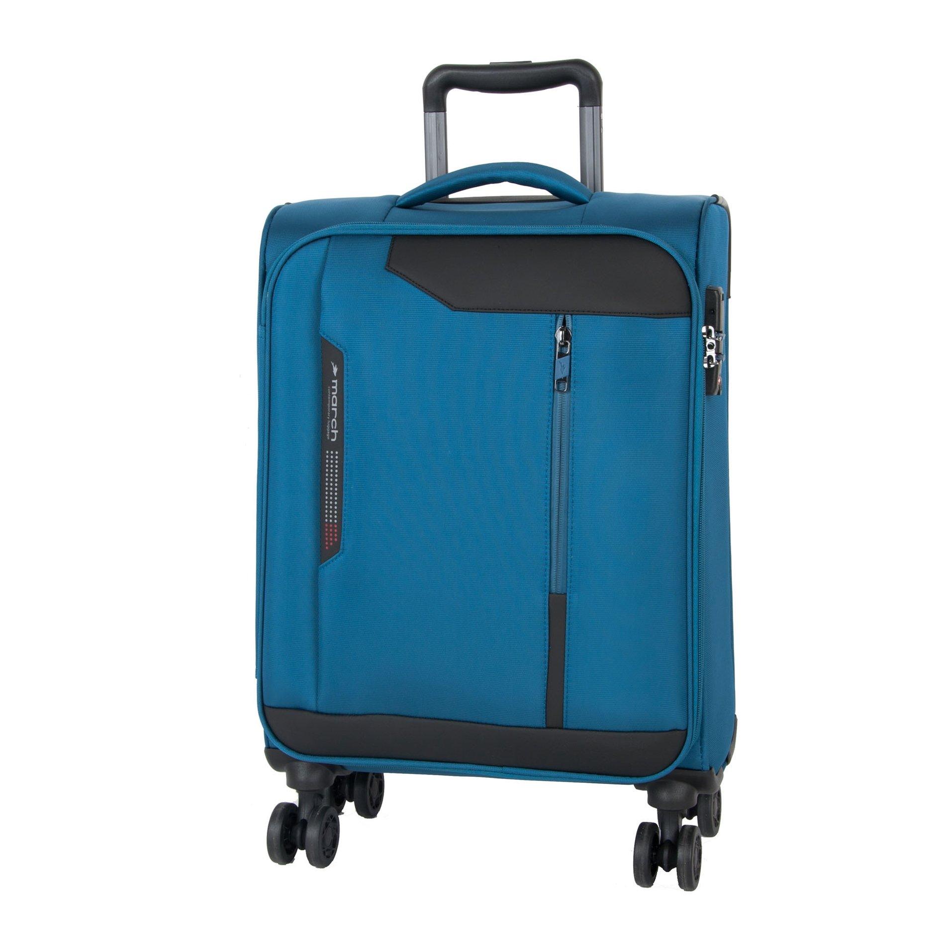Cestovní kufr March Stardust S Petrol blue
