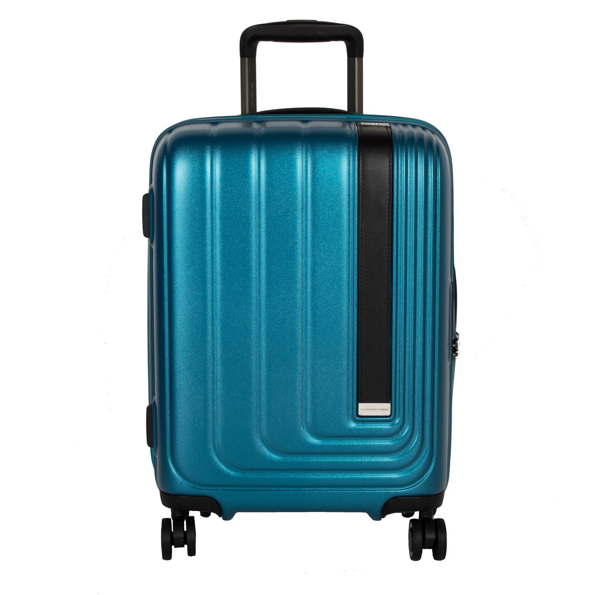 Cestovní kufr March Beau Monde S Omega Blue metallic
