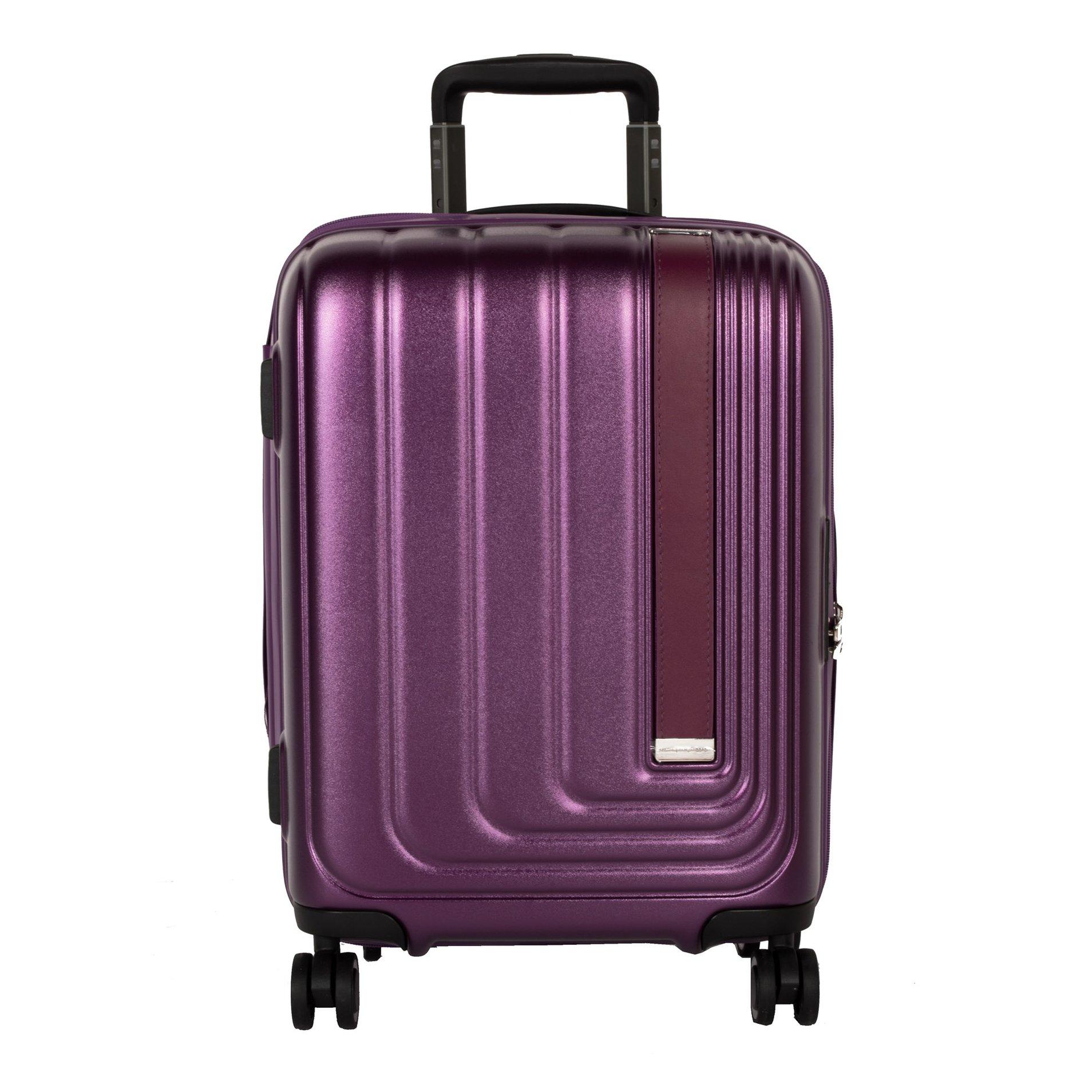 Cestovní kufr March Beau Monde S Purple metallic