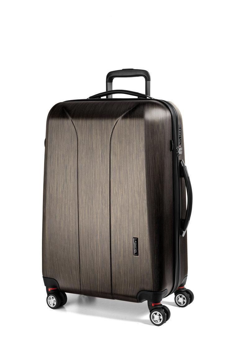 Cestovní kufr March New Carat SE L Bronze brushed
