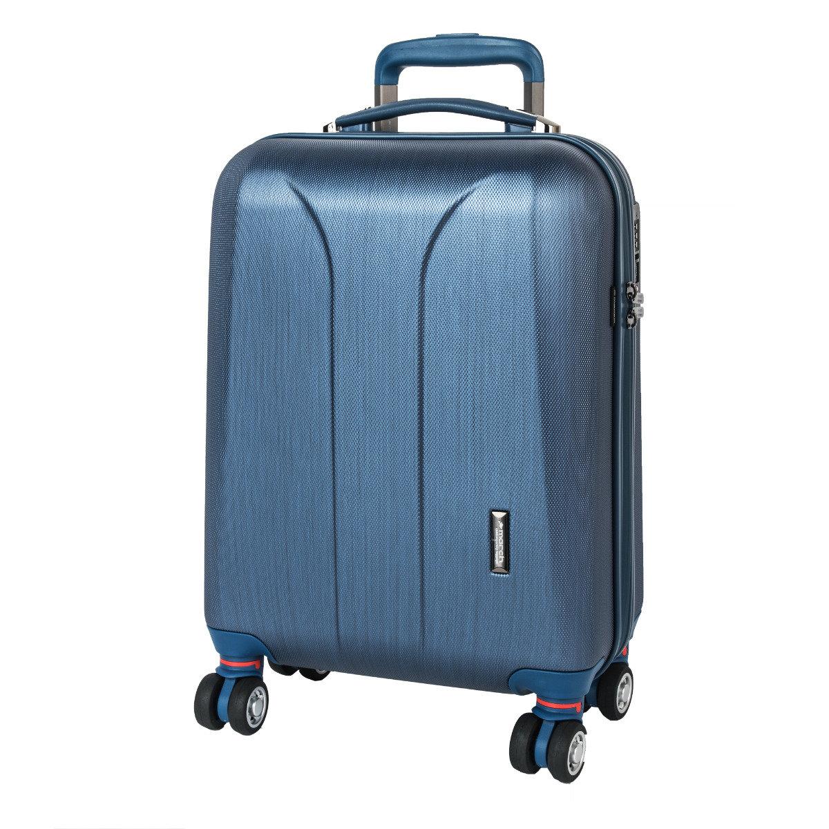 Cestovní kufr March New Carat SE S Navy brushed