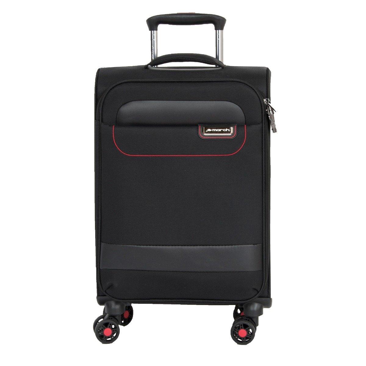 Cestovní kufr March Tourer S Black/ Red