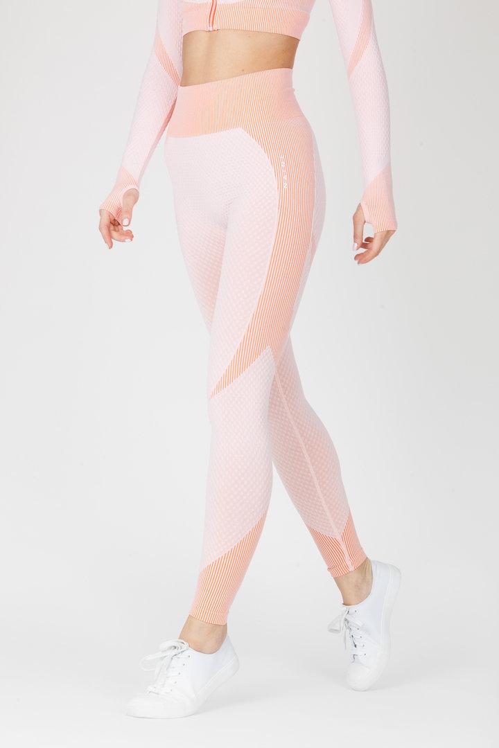 Legíny Naine 4.0. Bezešvé Curve - Pink
