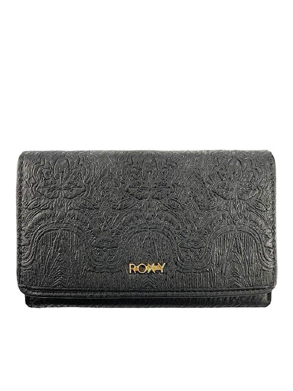 Roxy CRAZY DIAMOND ANTHRACITE dámská značková peněženka - černá