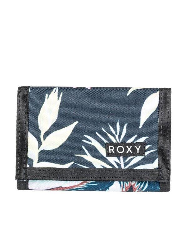 Roxy SMALL BEACH ANTHRACITE PRASLIN S dámská značková peněženka - modrá